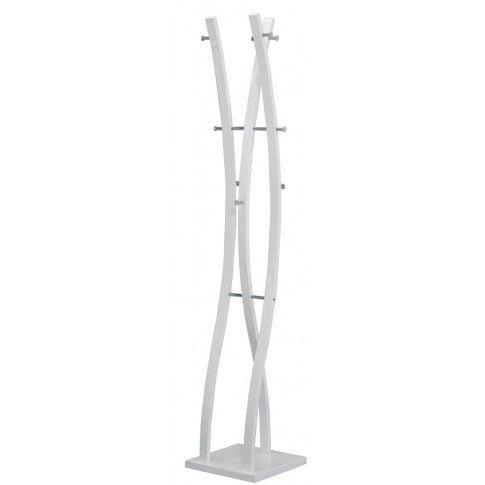 Zdjęcie produktu Podłogowy wieszak stojący Arlen 3X - biały.