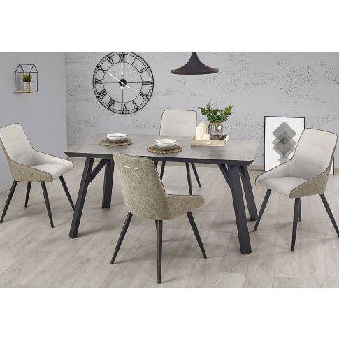 Zdjęcie produktu Industrialny stół Axe - beton.