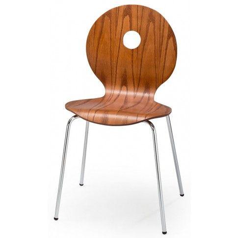 Zdjęcie produktu Profilowane krzesło Famis - czereśnia antyczna.