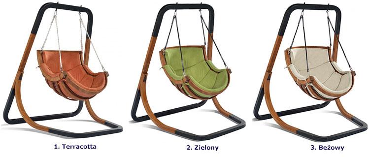 Bujany, wiszący fotel ogrodowy Pasos 2X - 3 kolory do wyboru