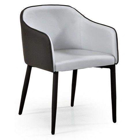 Zdjęcie produktu Tapicerowane krzesło Anter - popielate.