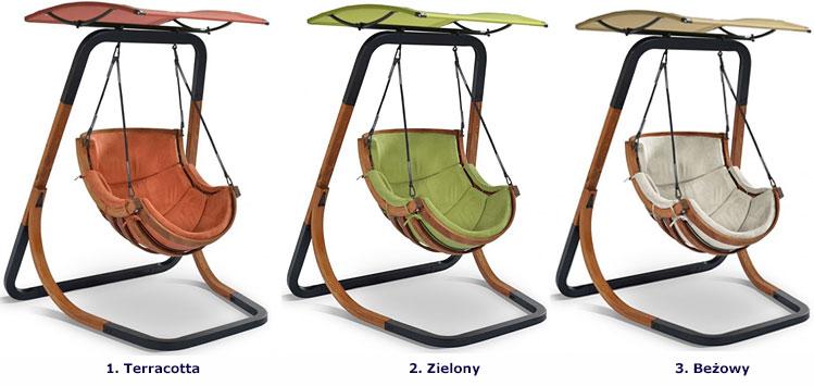 Bujany, wiszący fotel ogrodowy Pasos 3X - 3 kolory do wyboru