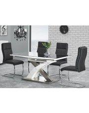 Rozkładany stół Zander - czarny