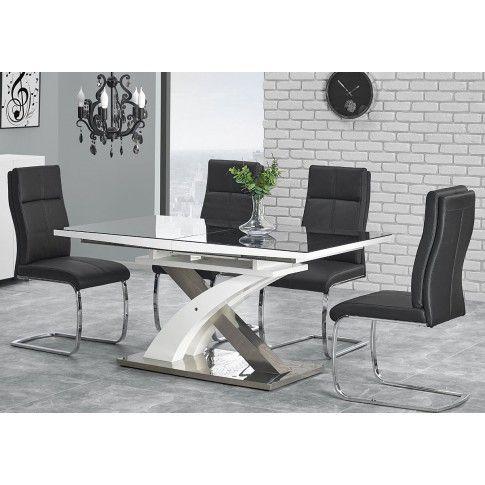 Zdjęcie produktu Rozkładany stół Zander - czarny.