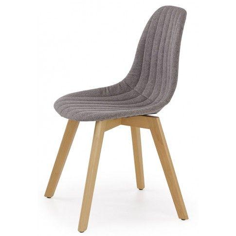 Zdjęcie produktu Skandynawskie krzesło Nevil - popielate.
