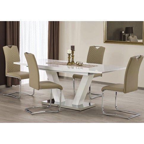 Zdjęcie produktu Nowoczesny stół Diston - biały.