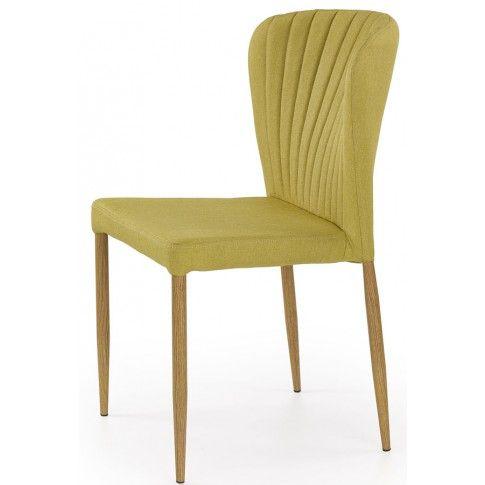Zdjęcie produktu Profilowane krzesło Rexis - oliwkowe.