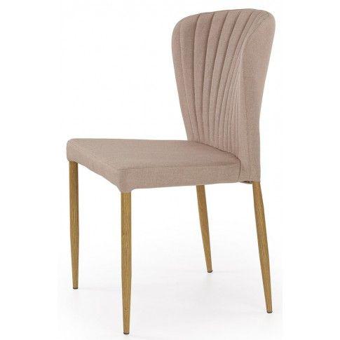 Zdjęcie produktu Profilowane krzesło Rexis - beżowe.