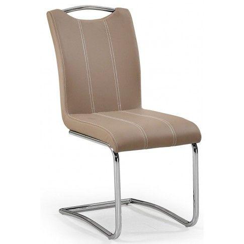 Zdjęcie produktu Tapicerowane krzesło Master - cappuccino.