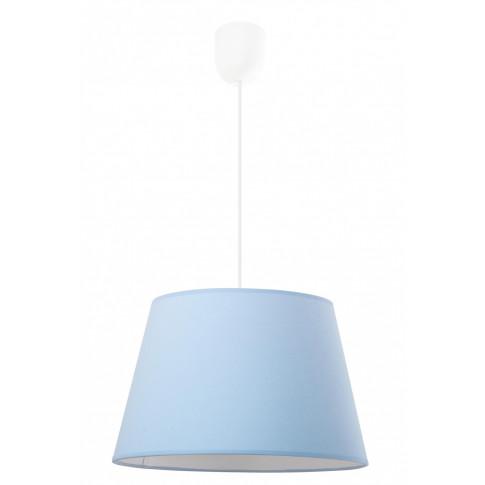 Niebieska lampa wisząca EX481-Pastela w stylu skandynawskim