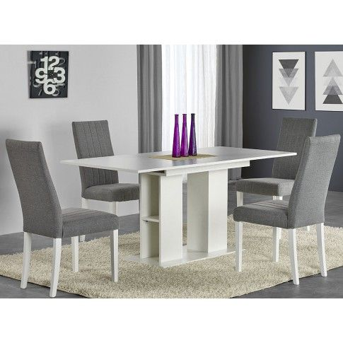 Zdjęcie produktu Rozkładany stół Kortez - biały.