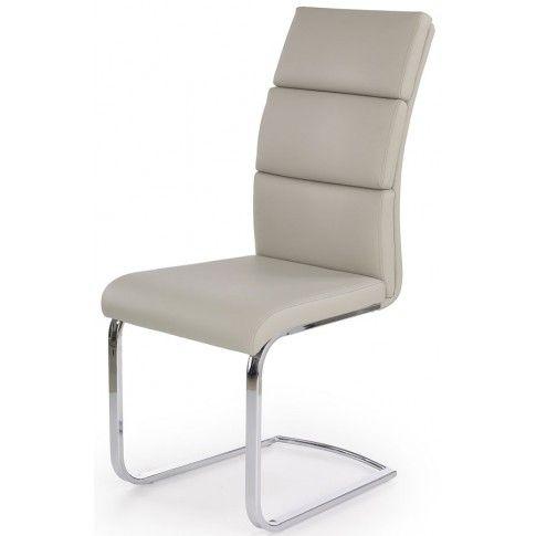 Zdjęcie produktu Tapicerowane krzesło Olvin - jasny popiel.