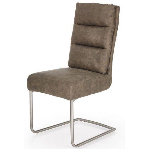 Zdjęcie produktu Krzesło z miękkim oparciem Helit - popielate.