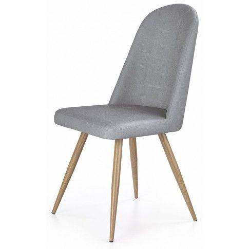 Zdjęcie produktu Skandynawskie krzesło Dalal - popielate.