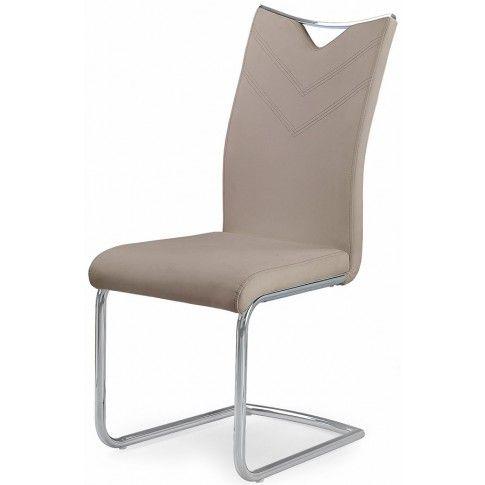 Zdjęcie produktu Minimalistyczne krzesło Eldor - cappuccino.