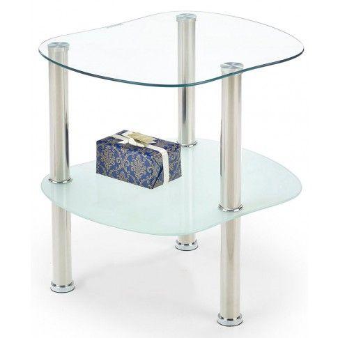 Zdjęcie produktu Ława szklana Katie - bezbarwna.