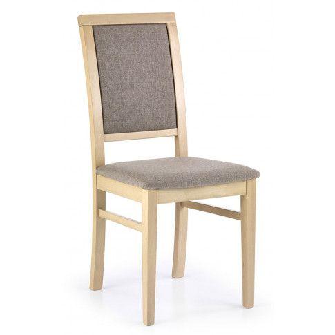 Zdjęcie produktu Drewniane krzesło Prince - Dąb sonoma.