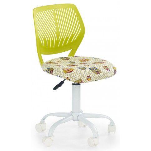 Zdjęcie produktu Fotel młodzieżowy w sówki Olaf - zielony.