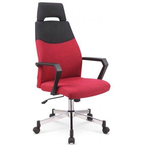 Zdjęcie produktu Fotel obrotowy Kilian - bordowy.