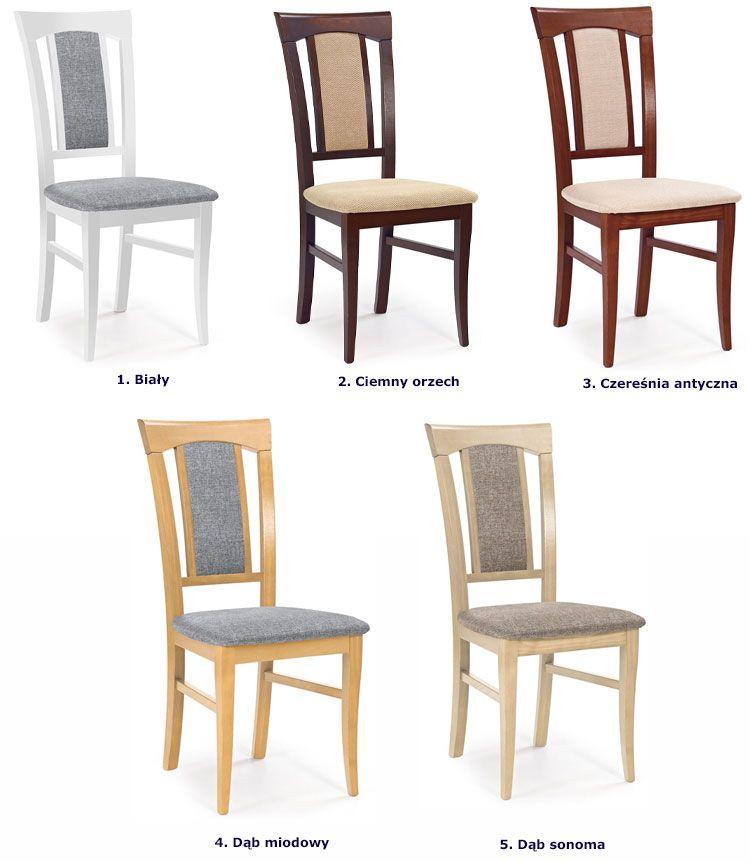 Krzesła Rumer - wizualizacja.