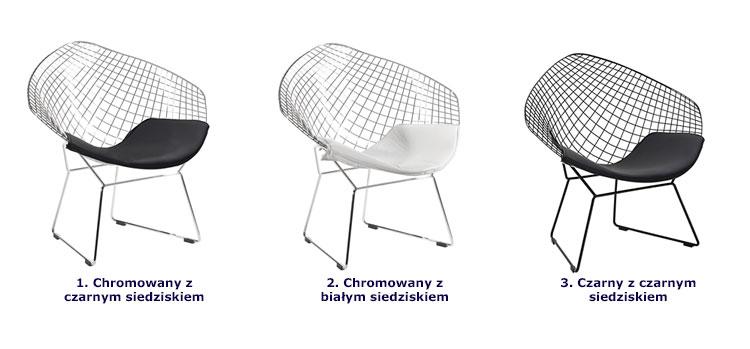 Kolory fotela Krato