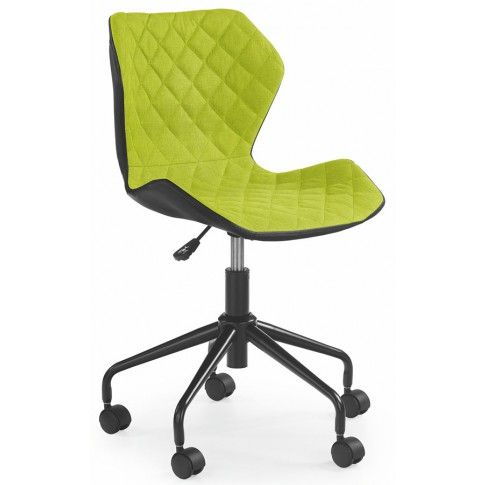 Zdjęcie produktu Młodzieżowy fotel obrotowy Kartex - zielony.