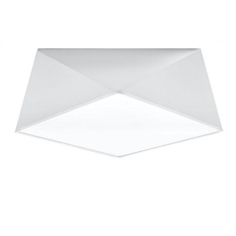 Biały nowoczesny plafon EX590-Hexi