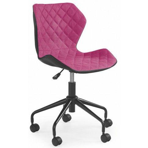 Zdjęcie produktu Fotel obrotowy dla dziewczynki Kartex - różowy.