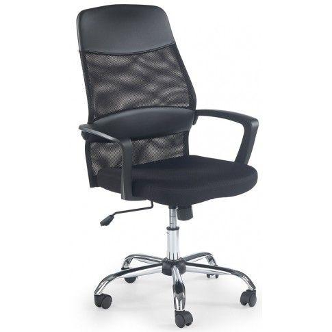 Zdjęcie produktu Wentylowany fotel obrotowy Anton - czarny.