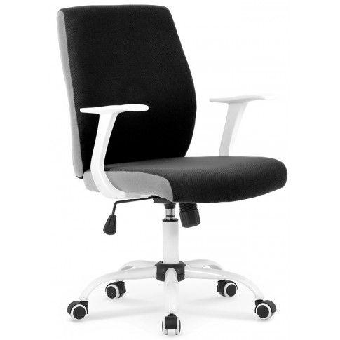 Zdjęcie produktu Fotel obrotowy Aldor - czarny.