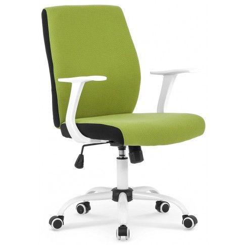 Zdjęcie produktu Fotel obrotowy Aldor - zielony.