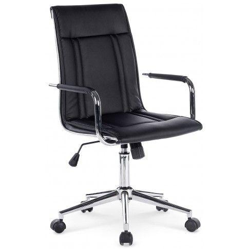 Zdjęcie produktu Fotel obrotowy Lenton - czarny.