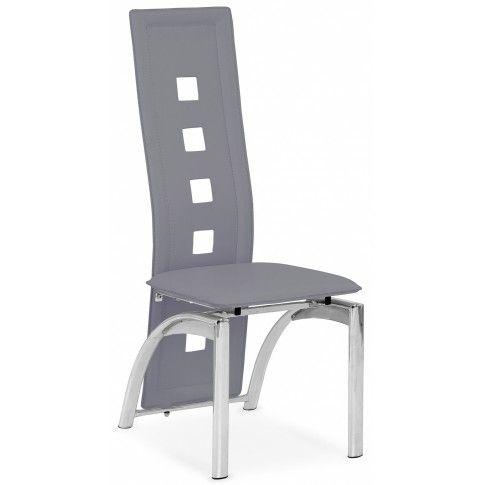Zdjęcie produktu Tapicerowane krzesło Imper - popielate.