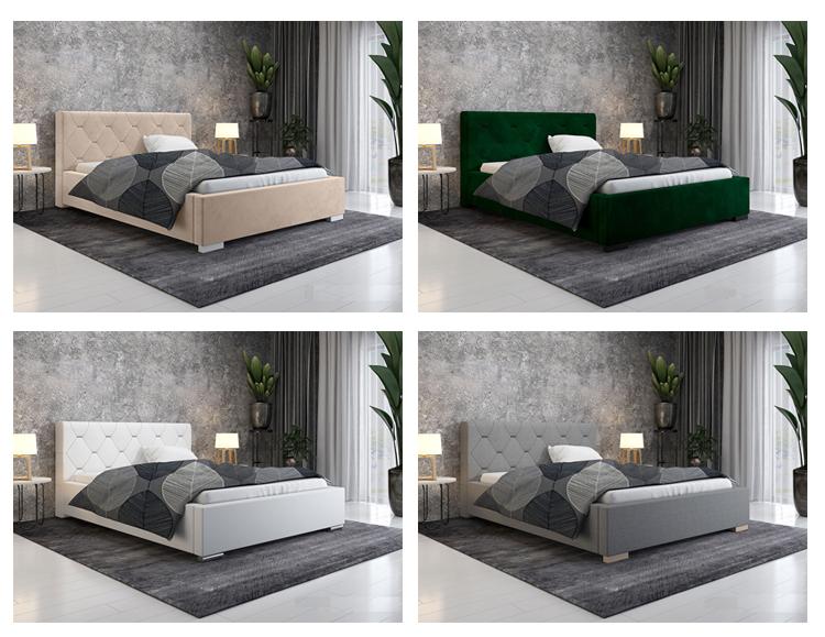 Wybrana kolorystyka łóżka Abello