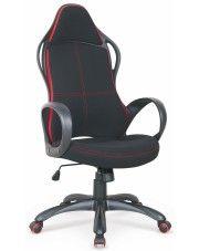 Fotel obrotowy Arlen - czarno-czerwony
