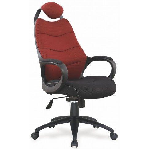 Zdjęcie produktu Fotel obrotowy Lefter - bordowy.