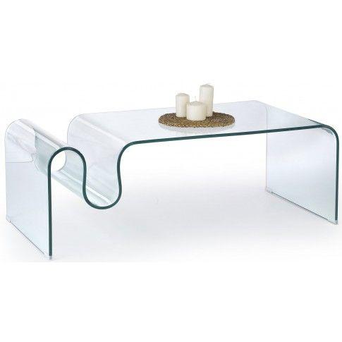 Zdjęcie produktu Ława z giętego szkła Trixi.