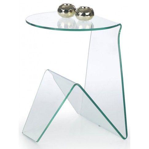 Zdjęcie produktu Ława z giętego szkła Alfa.