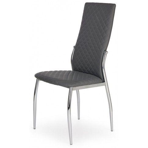 Zdjęcie produktu Krzesło pikowane Edson - popielate.