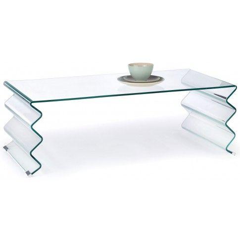 Zdjęcie produktu Ława z giętego szkła Dalia.