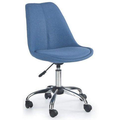 Zdjęcie produktu Fotel młodzieżowy Raxan - niebieski.