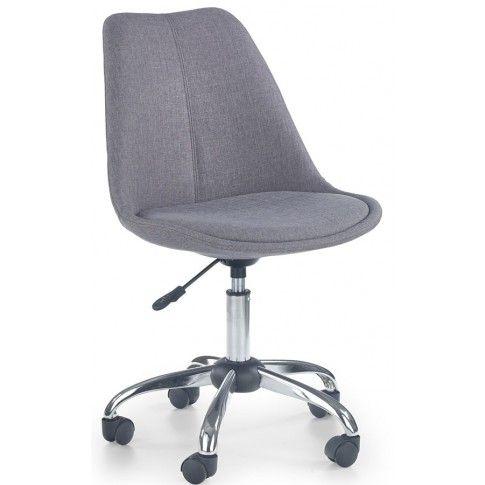 Zdjęcie produktu Fotel obrotowy Raxan - popielaty.