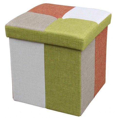 Zdjęcie produktu Kwadratowa pufa kolorowa Foxi 3X.