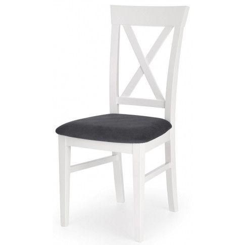 Zdjęcie produktu Krzesło kuchenne w stylu skandynawskim Fiton - białe.