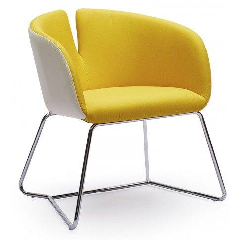 Zdjęcie produktu Fotel wypoczynkowy Milton - żółty.
