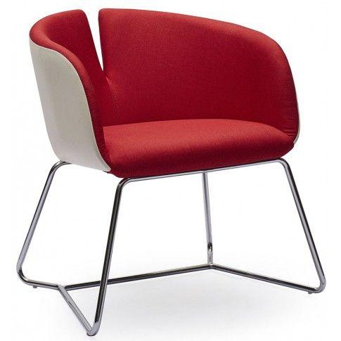 Zdjęcie produktu Fotel wypoczynkowy Milton - czerwony.