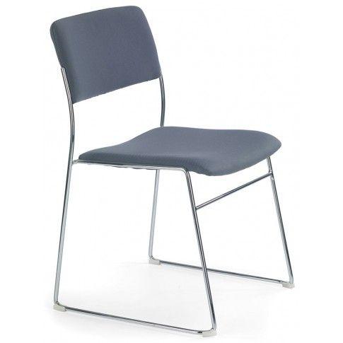 Zdjęcie produktu Fotel konferencyjny Holden - popielaty.