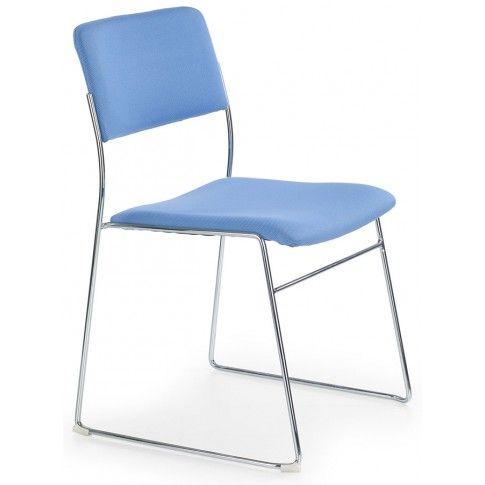 Zdjęcie produktu Fotel konferencyjny Holden - niebieski.