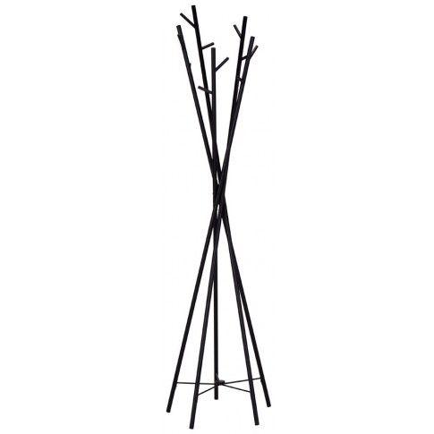 Zdjęcie produktu Nowoczesny wieszak stojący Arlen 4X - czarny.