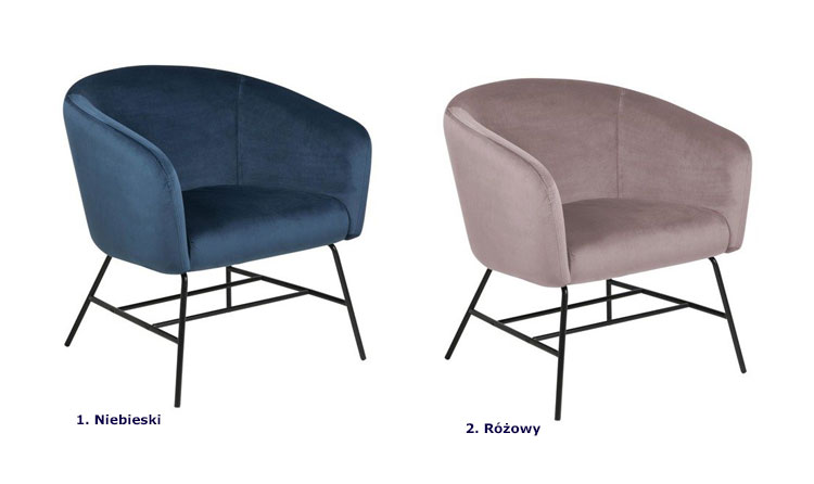 Kolory fotel Nerra 2X